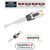 Кабель HDMI: REAL CABLE HD-E-SNOW (HDMI-HDMI)  HDMI  1.4 3D  High Speed with Ethernet  2M00
