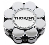 Прижим (клэмп) для пластинок: Thorens Stabilizer Chrome in Wooden Box