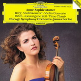 Anne-Sophie Mutter - Berg: Violin Concerto / Rihm: Time Chant (LP 2894790351, 180 gr.) Germany, Mint