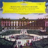 Mozart W. A. - Violin Concertos No. 4 in D major K. 218 No. 5 in A major K. 219 (139463) Mint