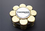 Прижим (клэмп) для пластинок: Thorens Stabilizer Golden in Wooden Box