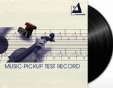 Тестовая грампластинка: Clearaudio Music-Pickup Test Record (LP 43033,180 g.) Germany, Mint