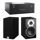 Сетевой CD-ресивер с Wi-Fi/AirPlay/Bluetooth: Denon CEOL RCD-N9 Black + DALI  Zensor 3